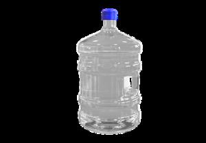 A bottled water cooler refill
